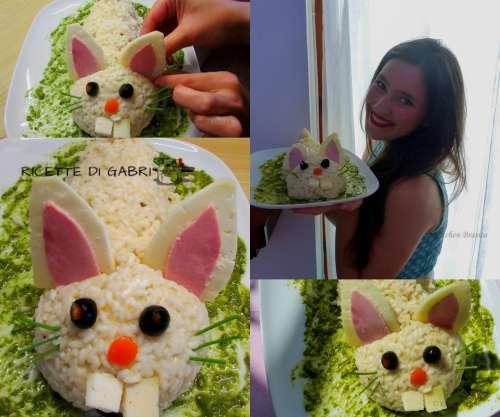 -il mio coniglietto risotto ricette di pasqua riso