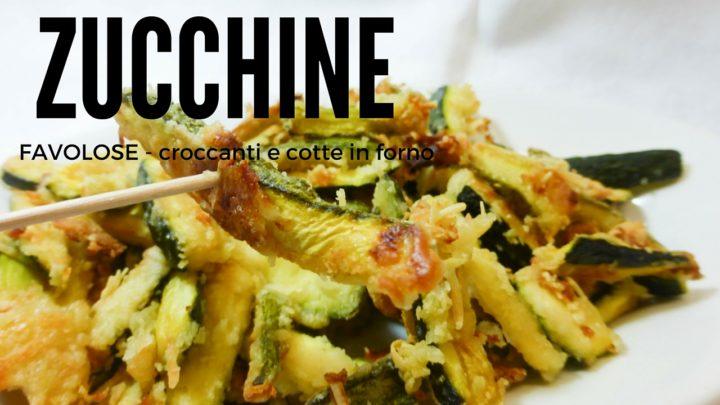 ricetta zucchine croccanti senza friggere