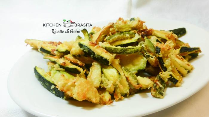 zucchine croccanti senza friggere