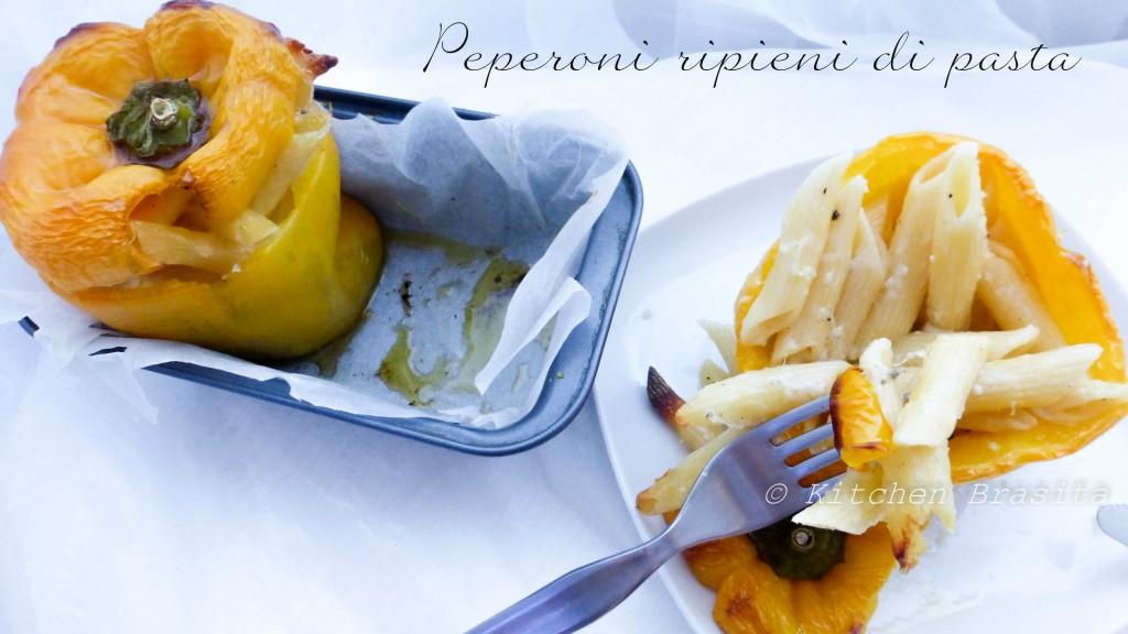 peperoni ripieni di pasta