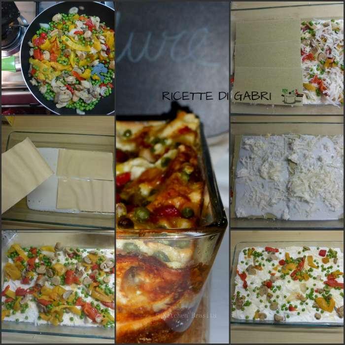 lasagna vegetariana