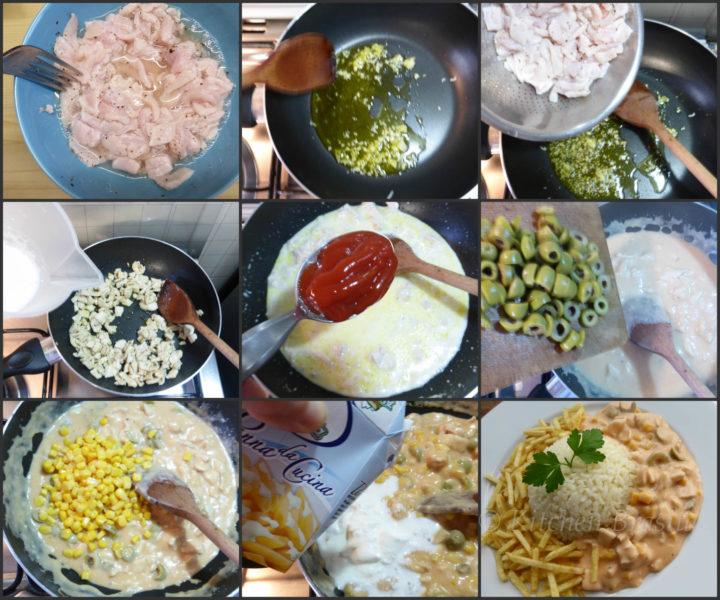 ricetta pollo veloce , spezzattino brasiliano
