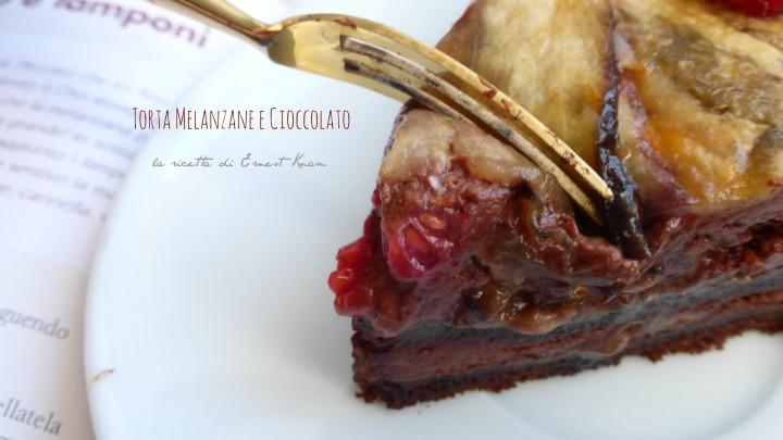 Torta di melanzane e cioccolato - Ricetta di Ernest Knam