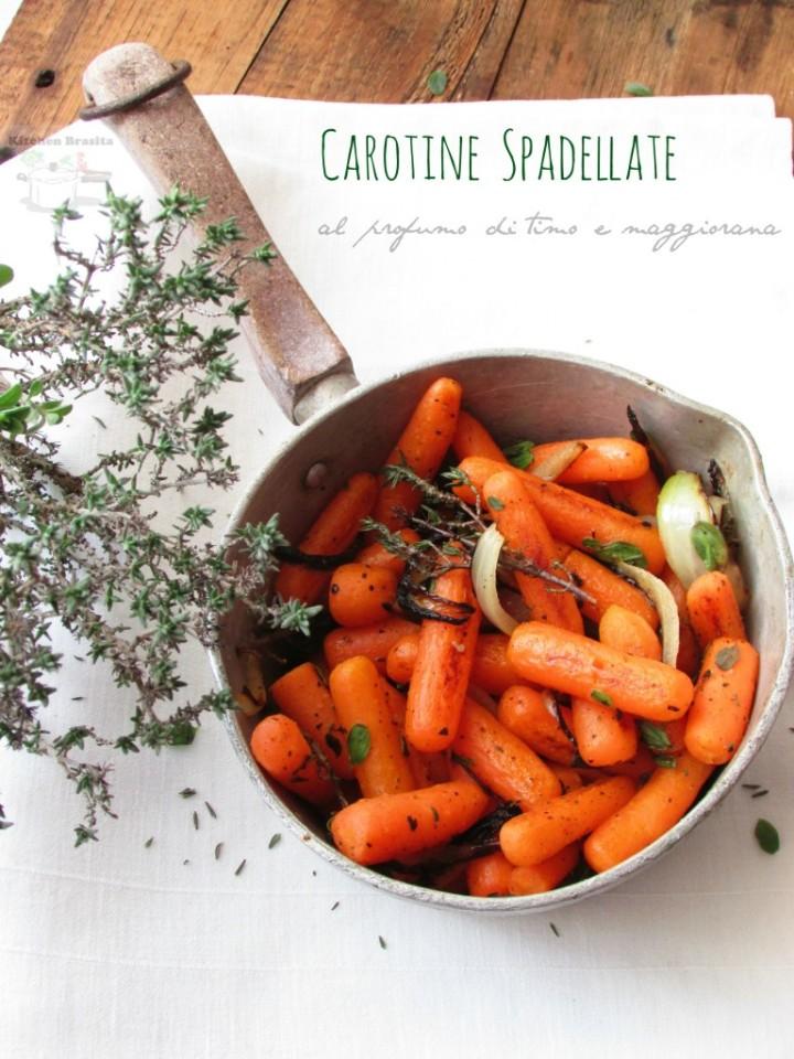 Carotine spadellate