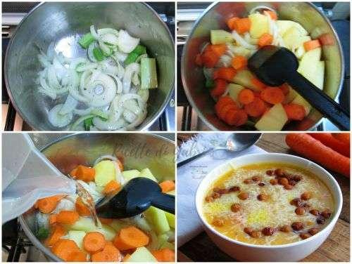 come fare la vellutata di carote e patate