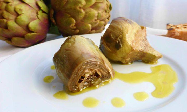 carciofi alla romana ricetta originale contorno facile veloce di gabri