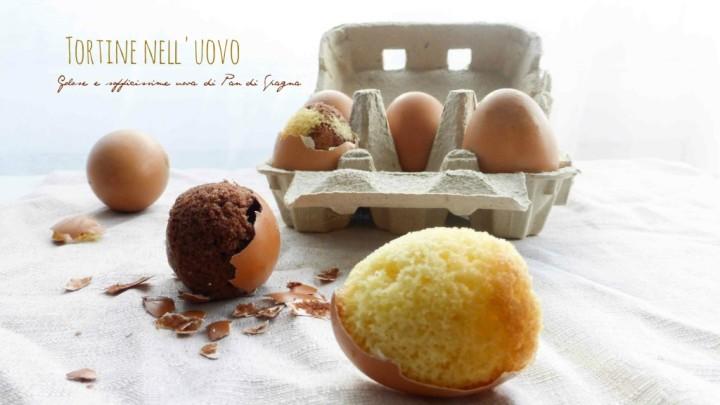 torta dentro guscio d uova