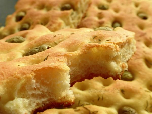 focaccia olive verdi ricetta