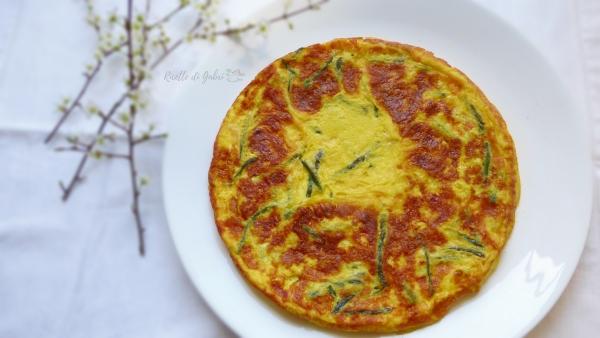 frittata di asparagi selvatici ricetta facile e veloce