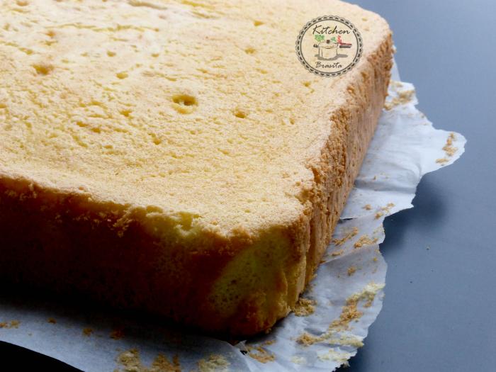pan di spagna rettangolare perfetto (senza lievito)6