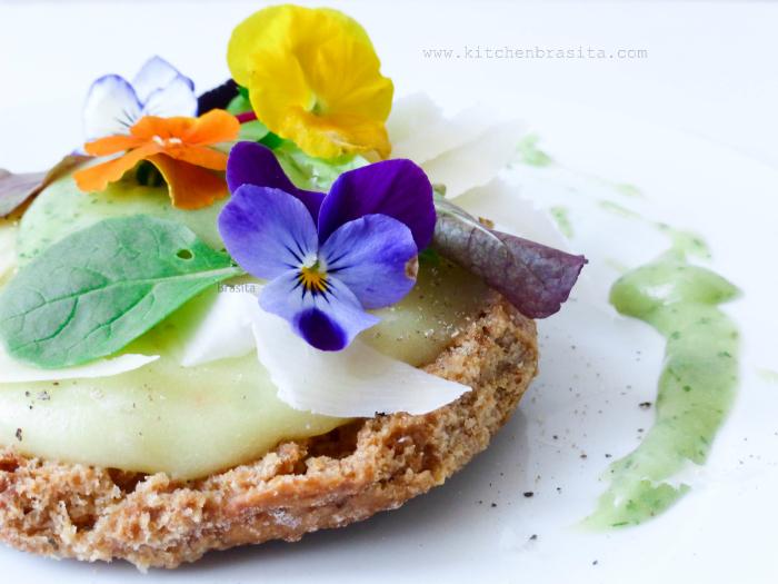 Frisella Cannavacciuolo patate basilico