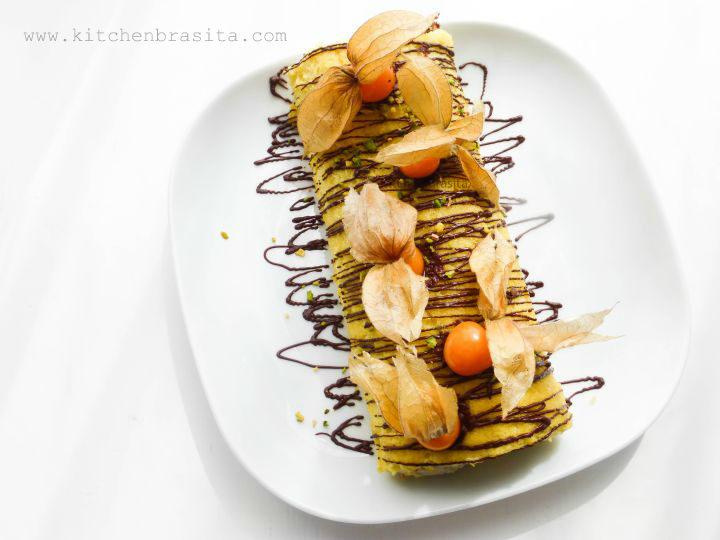 rotolo dolce pistacchio e ciocc