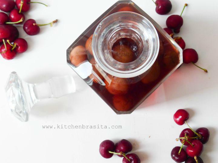 liquore alle ciliegie casalingo