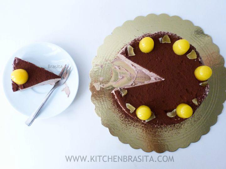 mousse al cioccolato knam