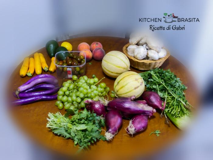 la spesa settimanale frutte e verdure