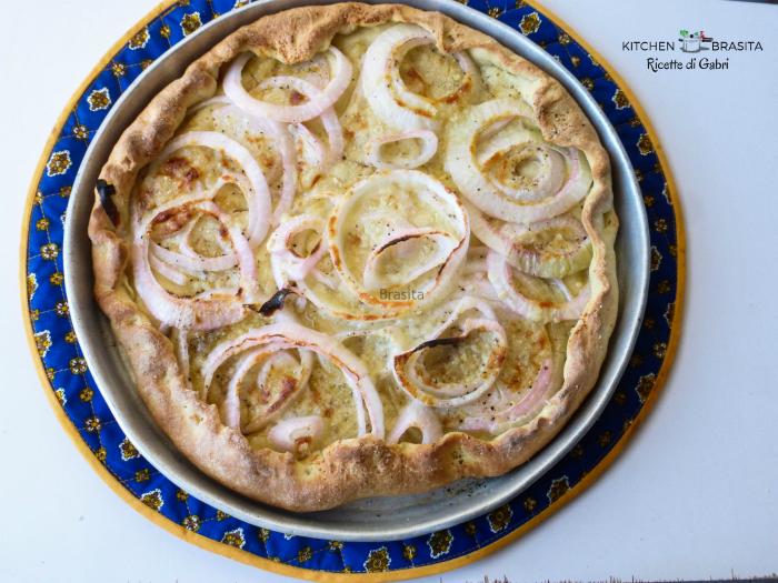 pizza semola cipolle