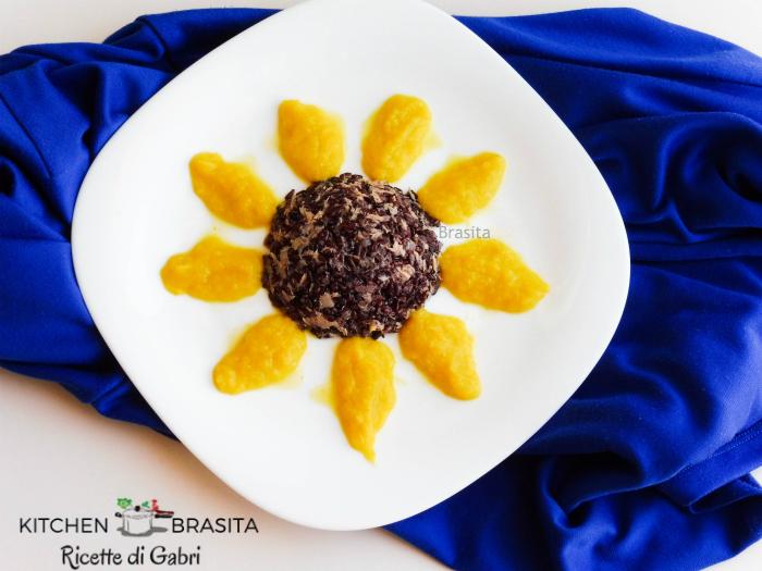 riso nero insalata girasole