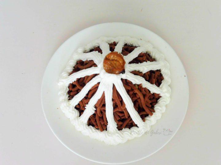 ricetta dolce monte bianco o montblanc fatto in casa ricette di gabri, ricetta marron glace