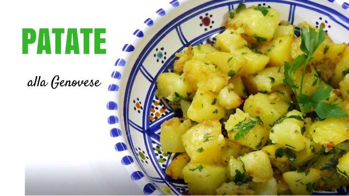 patate alla genovese prezzemolate
