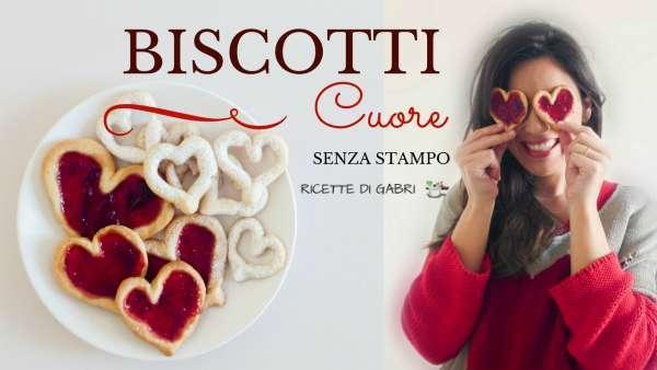 biscotti san valentino cuore frolla