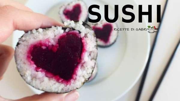 SUSHI CUORE heart sushi come fare