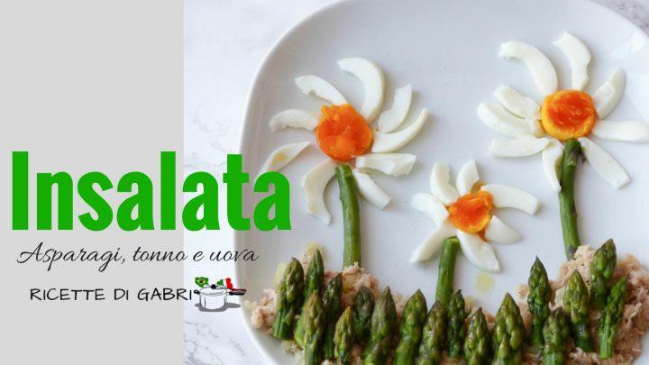asparagi uova tonno insalata