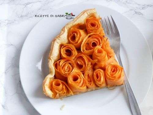 patate dolci ricette torta rustica pasta sfoglia