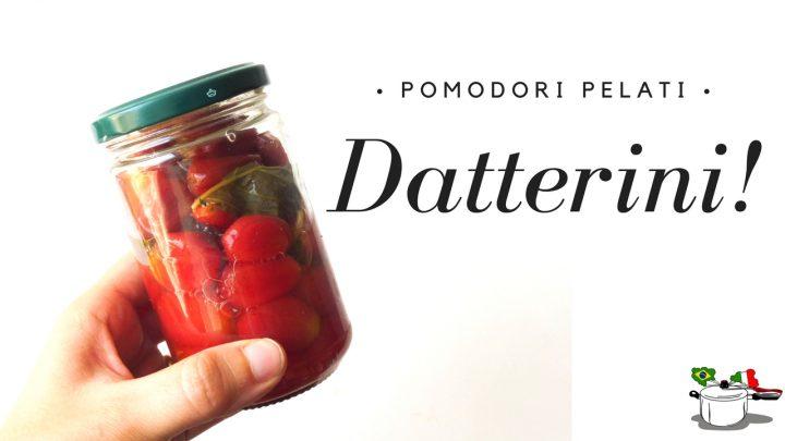 datterini pomodorini pelati