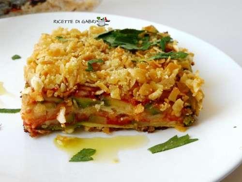 parmigiana zucchine pane carasau ricetta veloce facile