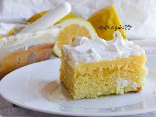 torta fredda limone e crema