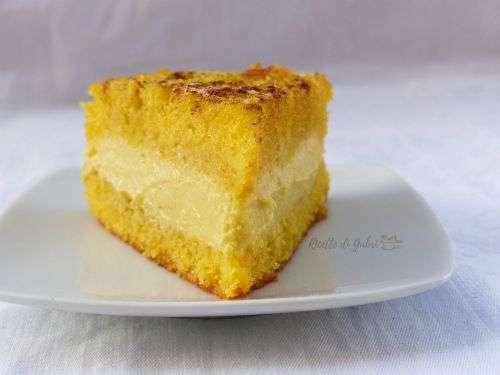 torta morbidissima mais e crema senza latte