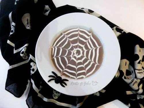 zuppa vellutata ragnatella halloween