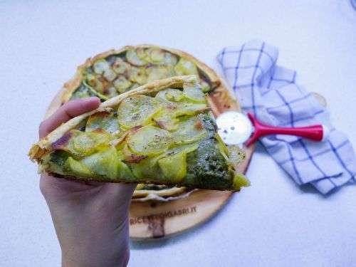 torta di spinaci e patate
