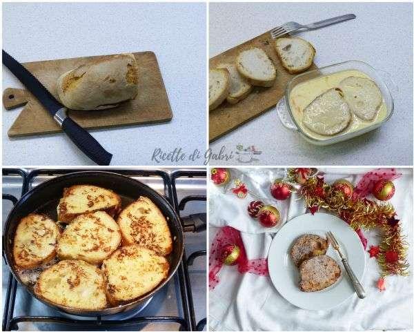 dolce con pane rafferno ricetta di natale