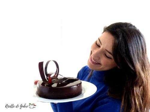 glassa lucida specchio al cioccolato senza glucosio