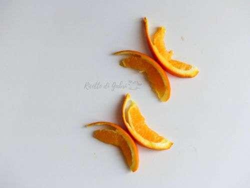farfalle di arance come fare video ricetta arancia farfalla