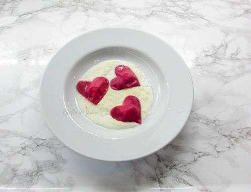 ravioli cuore san valentino ricetta facile