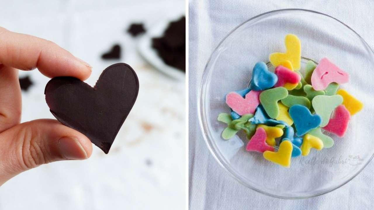 Decorazioni di cioccolato per dolci - Decorazioni natalizie per dolci ...