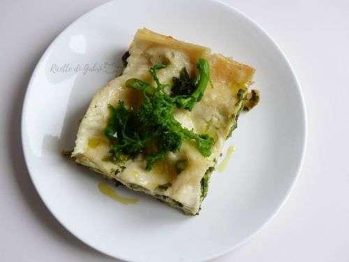 lasagna cime di rapa broccolletti