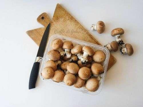 ricette funghi champignon marroni