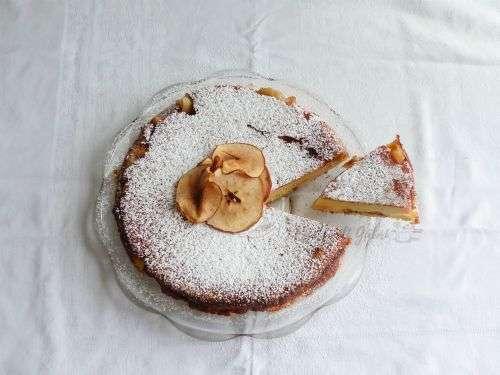 torta di mele low cost riclare pane pandoro pancarrè