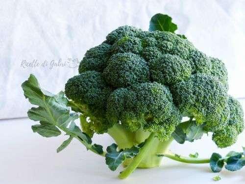 broccolo come pulire broccoli ricette facili