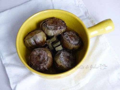 carciofi ripieni ricetta facile e veloce carne macinata