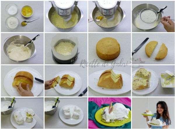 come fare una torta a forma di coniglietto di pasqua dolce