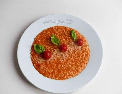 risotto al pomodoro facile e cremosa
