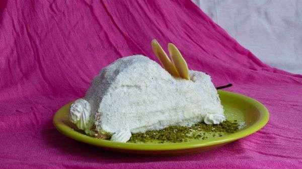 torta coniglietto pasqua dolce facile e veloce