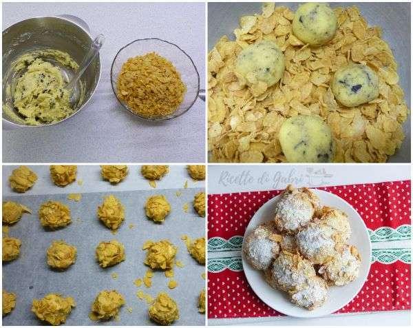 biscotti ai corn flakers cereali rose del deserto ricetta facile