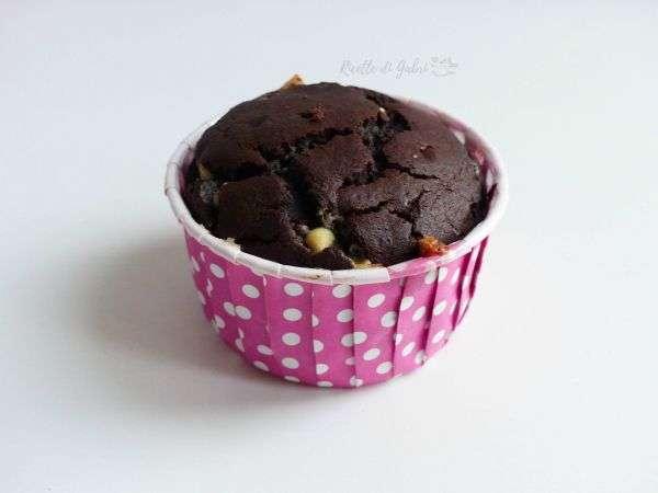 muffin al cioccolato soffice umido e senza burro