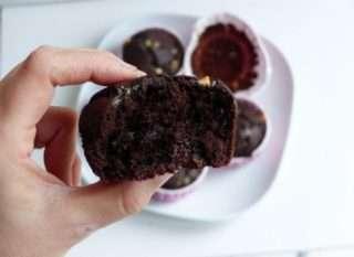 muffins al cioccolato umido e super goloso muffins come al bar