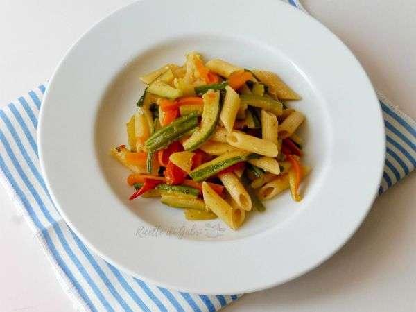 pasta con le verdure ricetta facile e veloce
